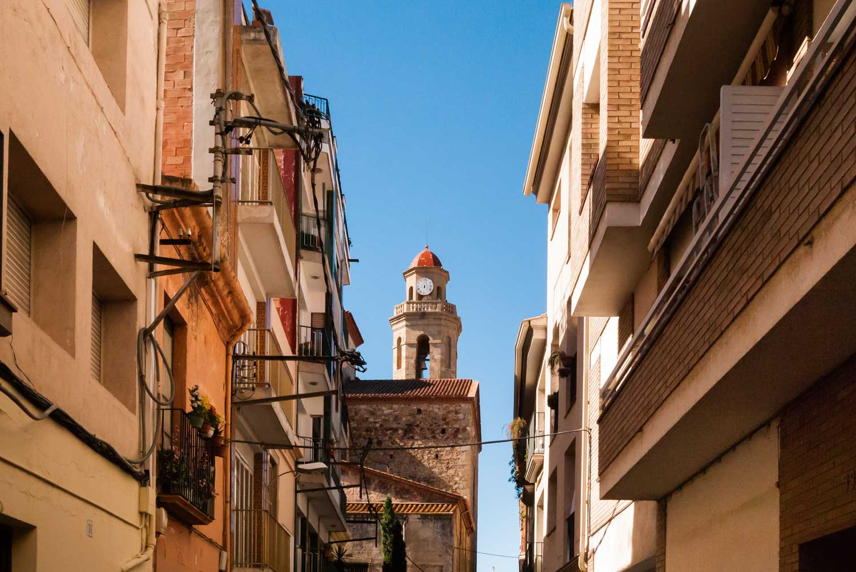Calella city streets
