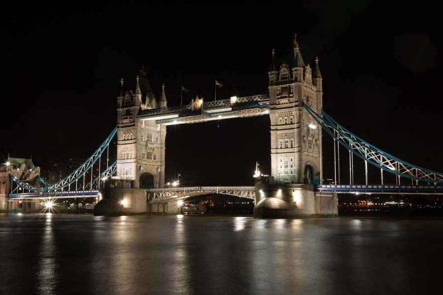 Tower Bridge from City Hall. To avoid disappointment, don't mistake London Bridge for Tower Bridge.