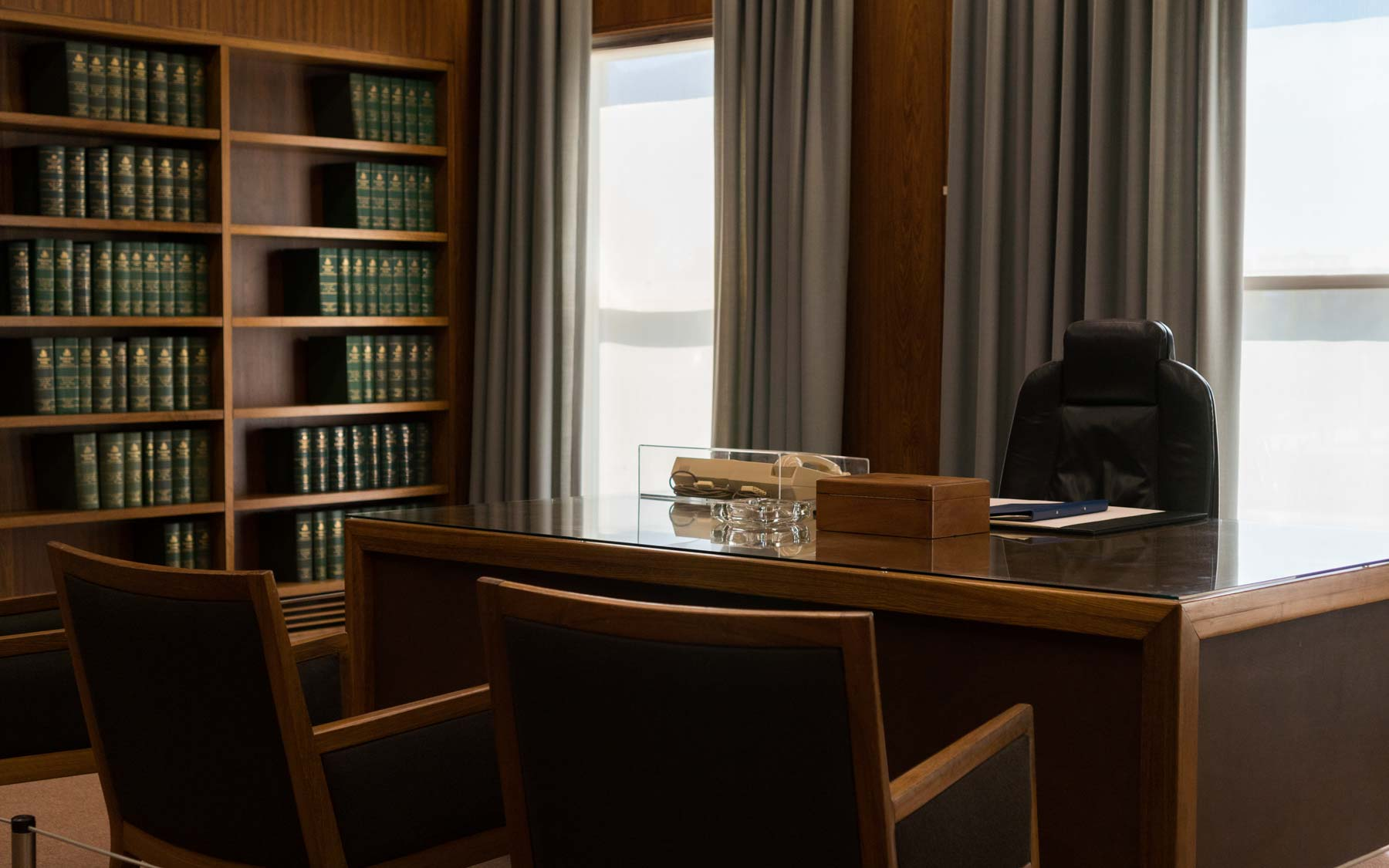 Bob Hawke's office in the original Parliament building.