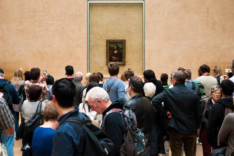 Leonardo's Mona Lisa.