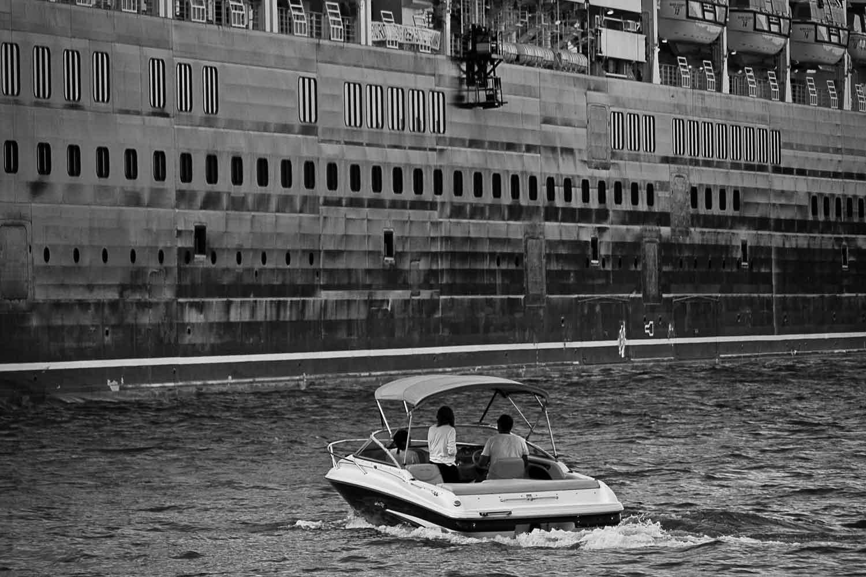 Queen Elizabeth cruise liner.