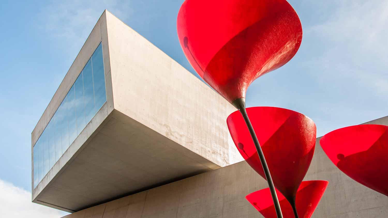 MAXXI Museo Nazionale delle Arti del XXI Secolo.