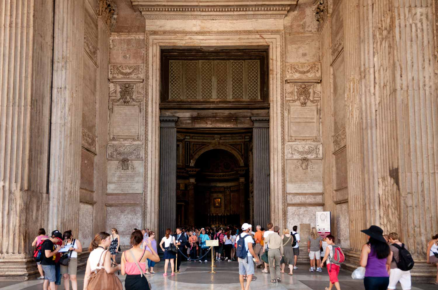 The Portico leading into the Rotunda.