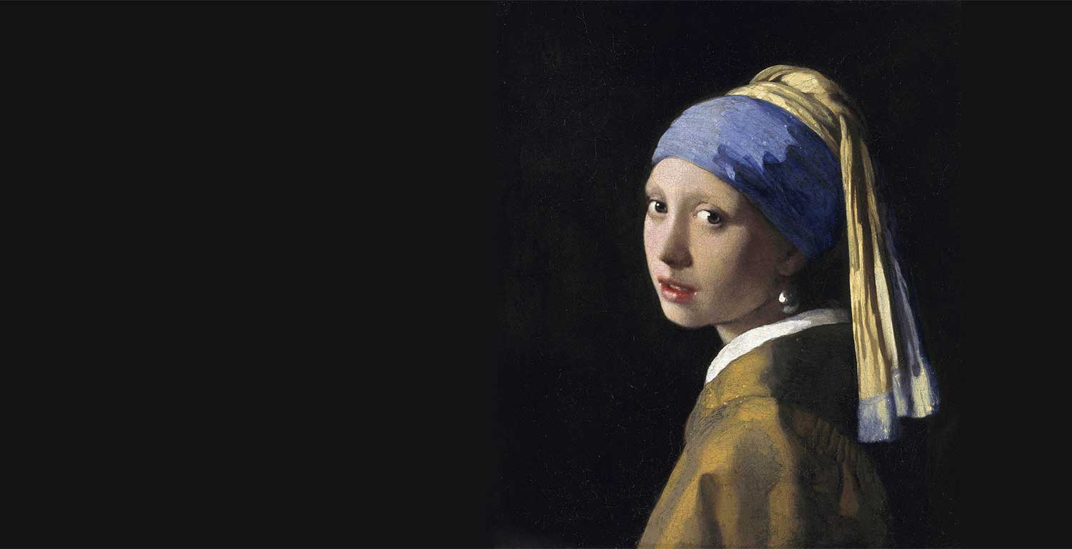 Johannes Vermeer - The Girl With The Pearl Earring (1665) - Courtesy of Wikipedia.