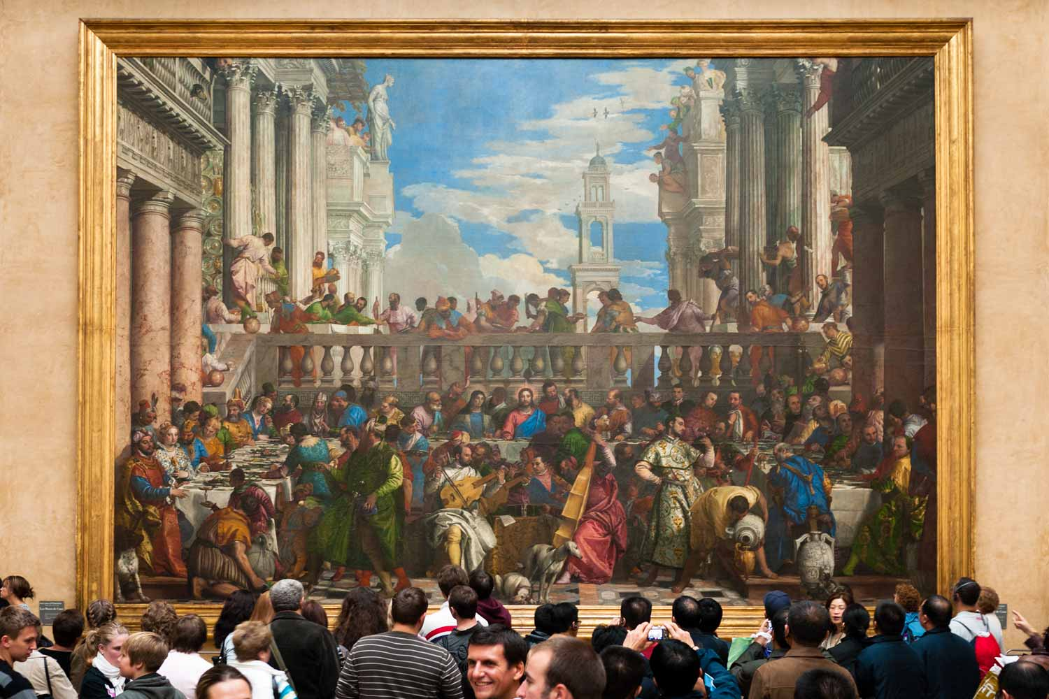 Veronese's The Wedding at Cana.